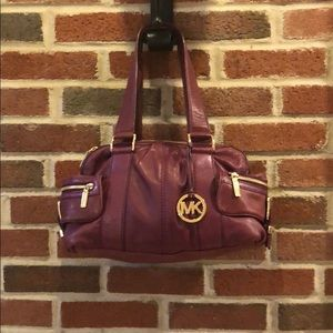 Michael Kors Plum Bag